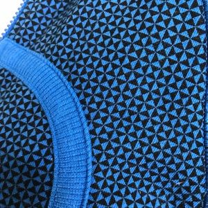 lululemon athletica Tops - Lululemon Scuba Hoodie-Double Diamond Baroque Blue